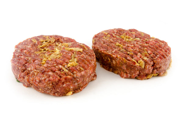 Wild Boar with Caramalised Onion Burgers 2 x 180g per pack