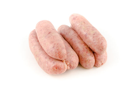 Pork, Wild Boar and Caramelised Onion Sausage 6 per pack