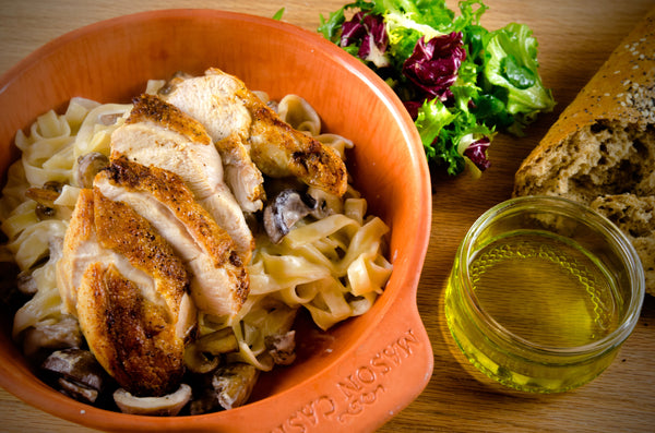 Chicken and pasta Bake