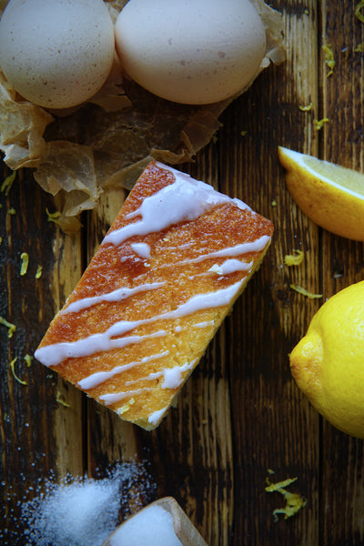 Lemon drizzle from our 'Finest Dessert' range