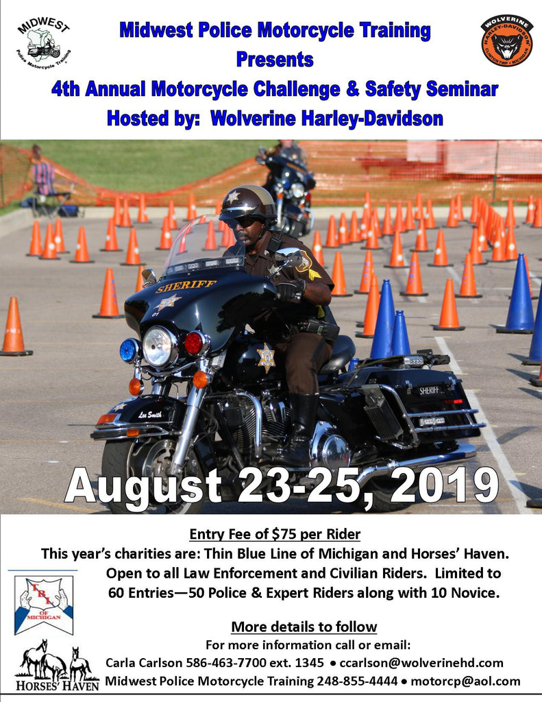 Midwest Police 4th Annual Motorcycle Challenge