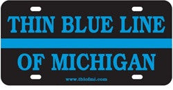 TBL of Michigan License Plate