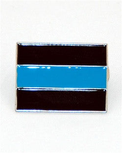Thin Blue Line Insignia Lapel Pin