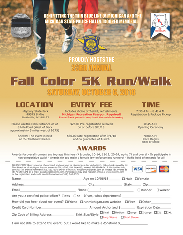 Fall Color Run 2018