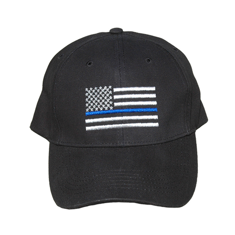 Thin Blue Line U.S. Flag Hat