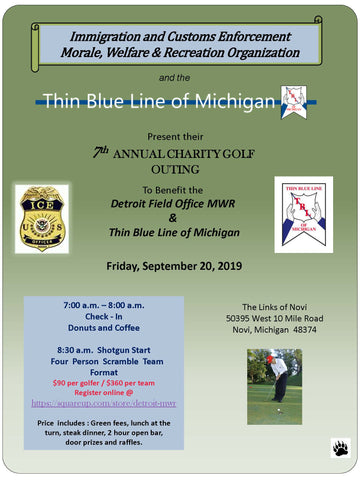 7th Annual Charity Golf Outing