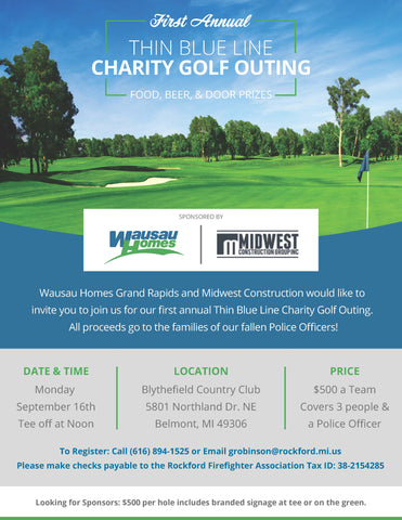 Thin Blue Line Charity Golf Outing