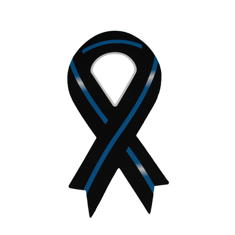 Blue Line Ribbon Magnet