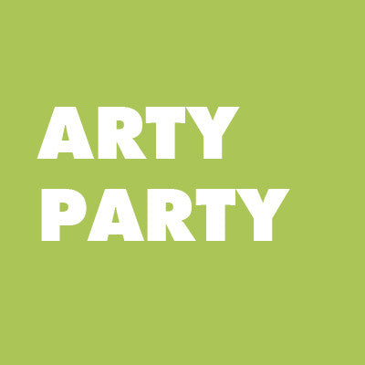 Custom Arty Party at the Museum + Family Membership