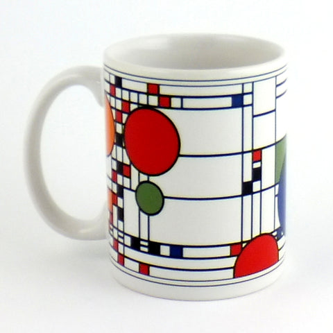 Frank Lloyd Wright:  Ceramic Mug - Coonley Playhouse