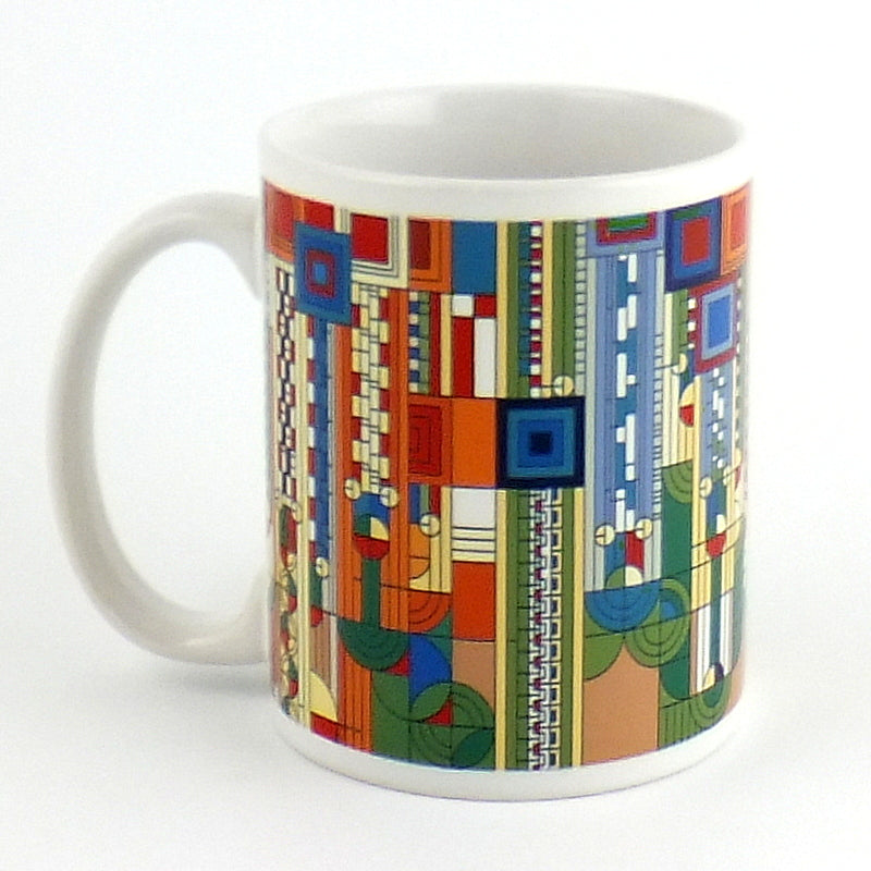 Frank Lloyd Wright:  Ceramic Mug - Saguaro Design