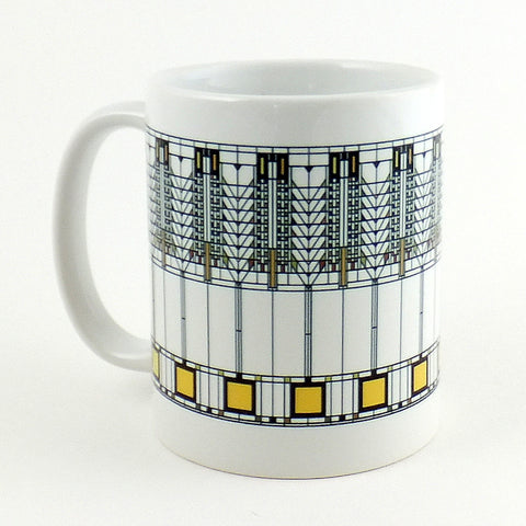 Frank Lloyd Wright:  Ceramic Mug - Tree of Life