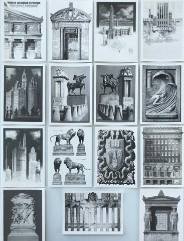 Greeting Cards: Boxed Set of 15 Architectural Drawings by Jack Nixon