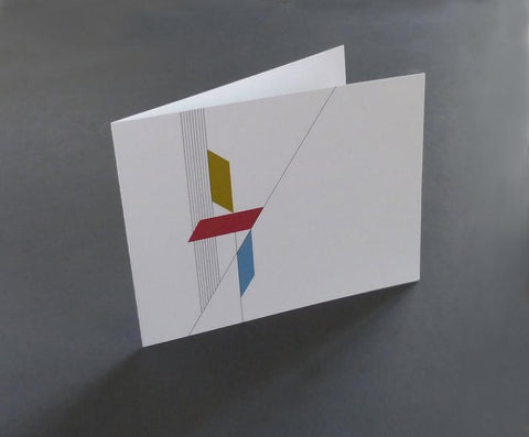 Greeting Card, Modern Graphic Architecture - Balance