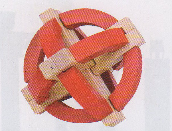 Frank Lloyd Wright:  3D Block Puzzle - Sphere