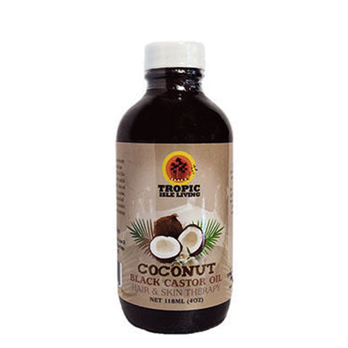 Tropic Isle Living - Coconut Black Castor Oil - 4oz