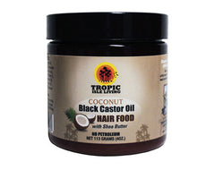 Tropic Isle Living - Jamaican Black Castor Oil - Hair Food - 4oz