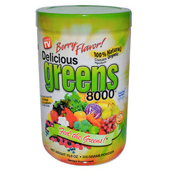Greens World - Delicious Greens 8000 - 10.6oz - Berry