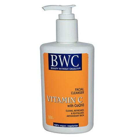 Beauty Without Cruelty - Vitamin C With CoQ10 Facial Cleanser - 8.5 fl oz