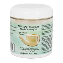 Ancient Secrets - Nasal Cleansing Salt Jar - 10 oz