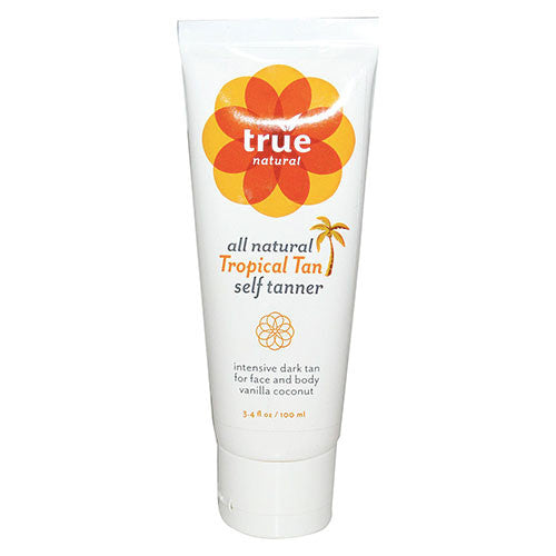 True Natural - Tropical Tan Self Tanner for Face & Body - 3.4oz