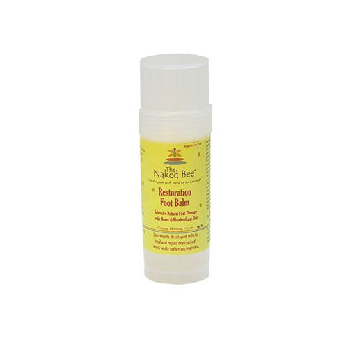 The Naked Bee - Orange Blossom Restoration Foot Balm - 2oz