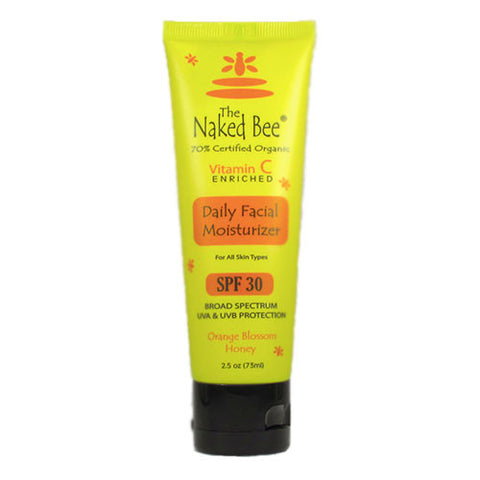 The Naked Bee - Orange Blossom And Honey Vitmin C Facial Moisturizer SPF 30 - 2.5oz