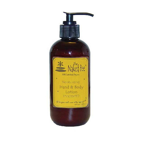 The Naked Bee - Unscented Moisturizing Hand & Body Lotion - 8oz