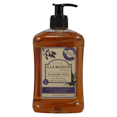 A La Maison - French Liquid Soap Lavender Aloe - 16.90oz