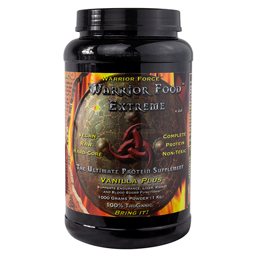 Health Force Nutritionals - Warrior Force Warrior Food Extreme Vanilla Plus - 1000g