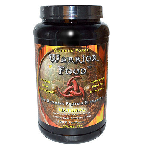 Health Force Nutritionals - Warrior Force Warrior Food Natural - 1000g
