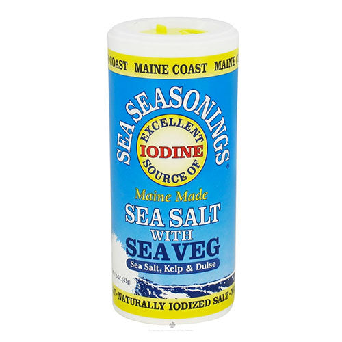 Maine Coast Sea Vegatables - Sea Seasonings Sea Salt With Sea Veg - 1.5oz