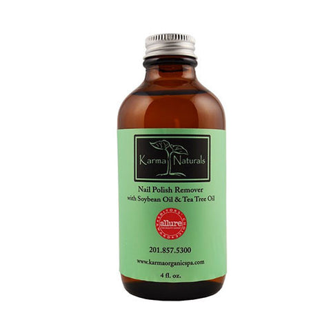 Karma Organic Spa - Soybean Oil and Tea Tree Oil Nail Polish Remover