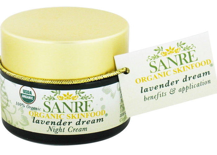 SanRe Organic Skincare - Lavender Dream Night Cream