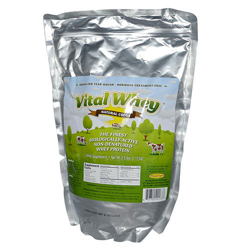 Well Wisdom Proteins - Vital Whey Cocoa Pouch - 2.5lbs