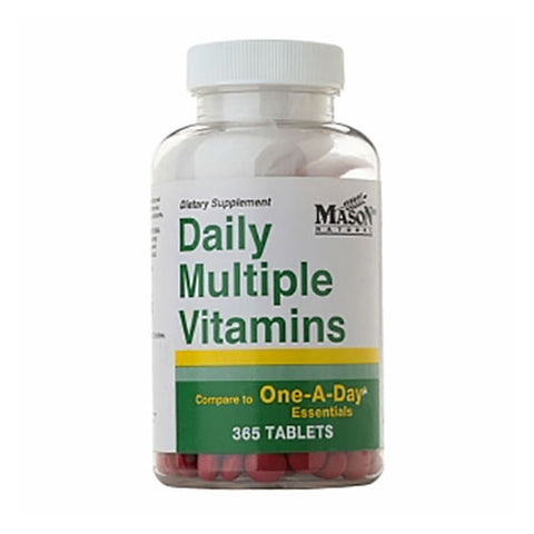 Mason Vitamins - Daily Multiple Vitamins - 365 Tabs