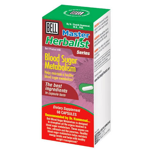 Bell Lifestyle Products - Blood Sugar Metabolism - 60 Caps