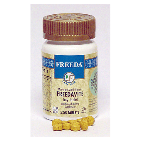 Freeda Vitamins - Freedavite - 250 Tabs