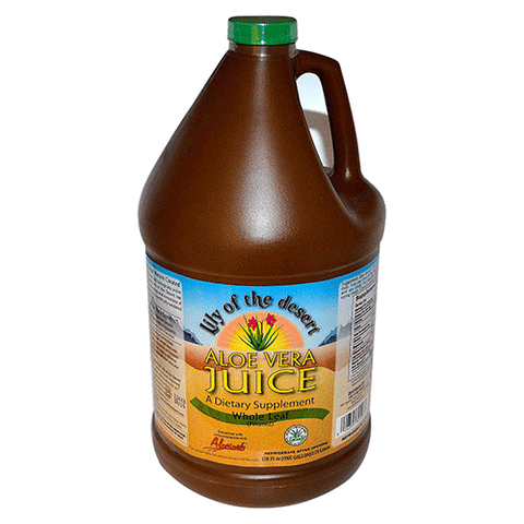 Lily Of The Desert - Whole Leaf Aloe Vera Juice - 128oz