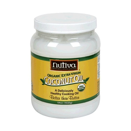 Nutiva - Organic Extra Virgin Coconut Oil - 54oz