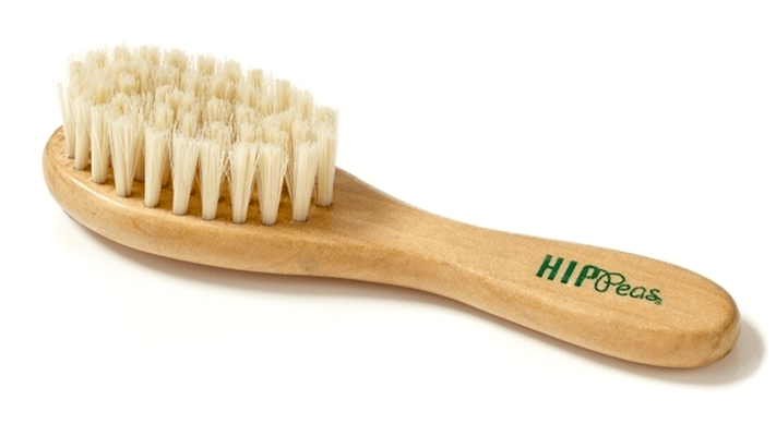 Hip Peas - Wooden Baby Brush