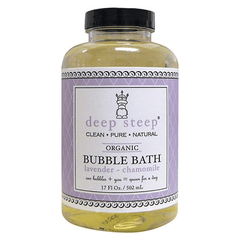 Deep Steep - Natural Bubble Bath - Lavender Camomile - 17.5oz