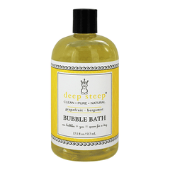 Deep Steep - Natural Bubble Bath - Grapefruit Bergamot - 17.5oz