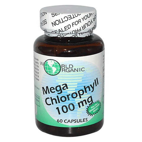 World Organics - Mega Chlorophyll 100mg - 60 caps