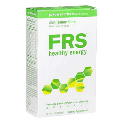 FRS - Healthy Energy Powder - Lemon Lime - 14 packets