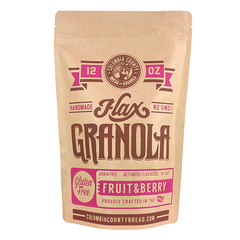 Columbia County Bread & Granola - Fruit & Berry Mixed Granola - 12oz