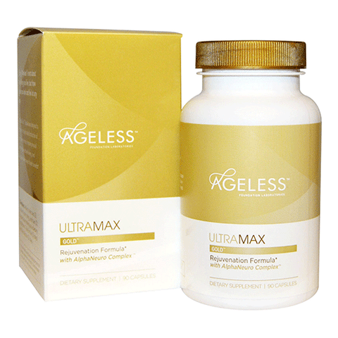 Ageless Foundation Laboratories - Ultra Max Gold - 90 caps