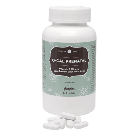 Pharmics - O-Cal Prenatal Supplement - 240 caps
