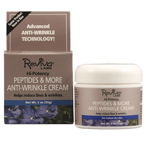 Reviva Labs - Anti-Wrinkle Cream with Peptides - 2oz