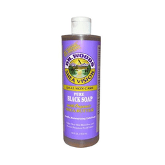 Dr Woods - Pure Black Soap With Shea Butter - 16oz